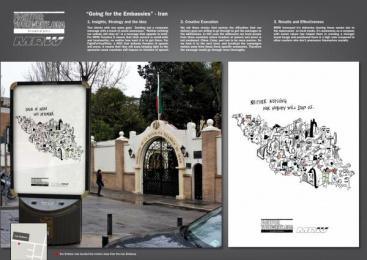 MRW: IRAN Promo / PR Ad by Ruiz Nicoli
