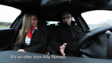 Alfa Romeo: Undercover testdrive Case study by Duval Guillaume Modem Antwerp
