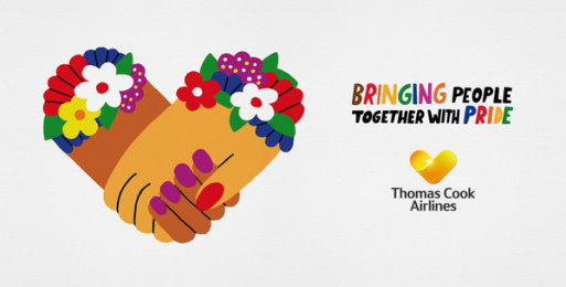 Thomas Cook Group Airlines: Bringing People Together With Pride, 3 Outdoor Advert by BJL Manchester