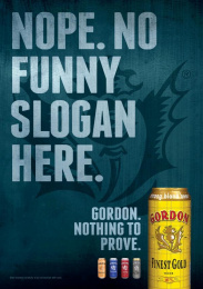 Gordon Finest Beers: Nope Print Ad by 10 Advertising, Touche, Yves Van Houdt