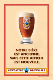 Newcastle Brown Ale: No Bollocks, 3 Print Ad by Nolin BBDO Montreal