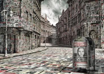 Save The Children: Missing Print Ad by Gorila Estudio, Y&R Mexico