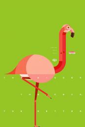 Fini: Flamingo Print Ad by Borghi/Lowe Sao Paulo