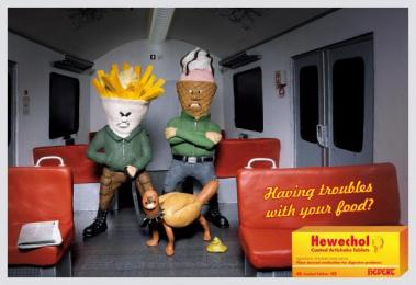 Digestive Pills: SUBWAY Outdoor Advert by DDB Berlin
