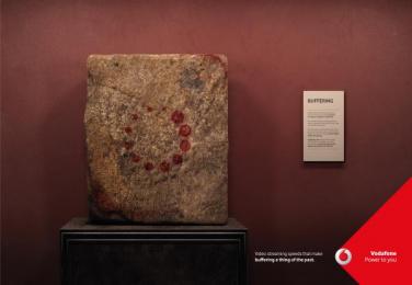 Vodafone: Buffering, 2 Print Ad by JWT Albania