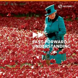 Reuters: Roses Print Ad by John McNeil Studio