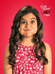 Cantinho Doce: Girl Print Ad by Quadrante Advertising