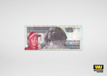 Western Union: Mao Print Ad by University of the Arts London