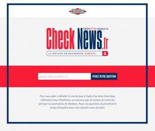 CheckNews.fr: Website Digital Advert by J. Walter Thompson Paris