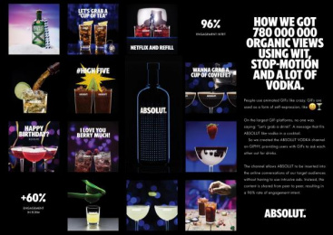 Absolut: Absolut Digital Advert by SEBTON/CO Stockholm