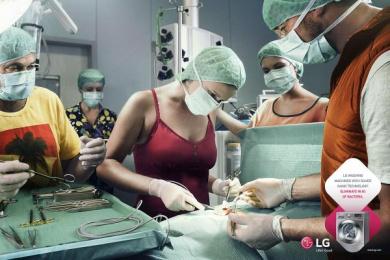 LG: 0,1% Print Ad by Y&R Sao Paulo