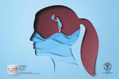Farmacisti Preparatori: Skin Print Ad by J. Walter Thompson Milan