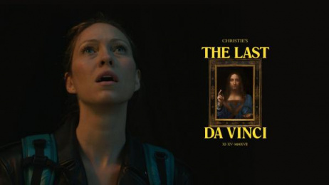 Christie's: The Last da Vinci [image] 2 Digital Advert by Droga5 New York