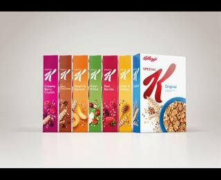 Special K: SPECIAL K VISUAL IDENTITY AND REDESIGN, 3 Design & Branding by Turner Duckworth: London & San Francisco