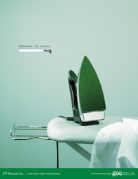 Ntt Resonant: NATURALLY FOR NATURE Print Ad by Ntt Advertising