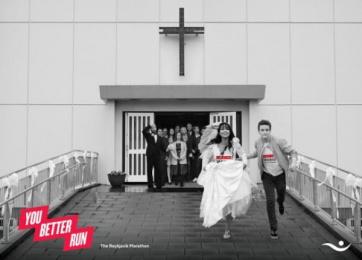 Islandsbanki: You Better Run, 3 Print Ad by Brandenburg