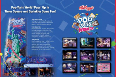 Pop Tarts: POP-TARTS WORLD Promo / PR Ad by MSLGroup