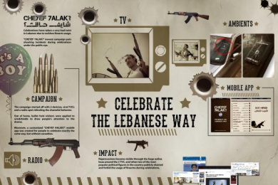 Cheyef Halak: SHOOT TO CELEBRATE Case study by Impact BBDO Beirut