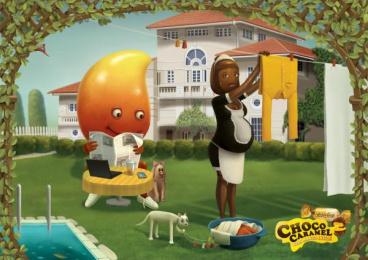 Eclairs: Mango Print Ad by VML Qais Mumbai