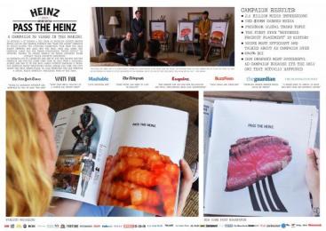 Heinz: Pass The Heinz Print Ad by DAVID Miami, Sterling Cooper Draper Pryce