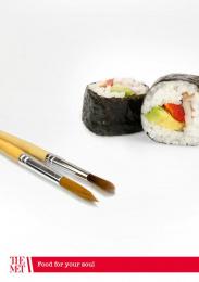 The Metropolitan Museum of Art: Sushi Print Ad by Acc Granot Israel