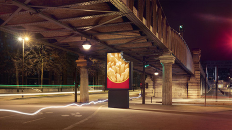 McDonald's: No Logo, 2 Outdoor Advert by TBWA Paris, ELSE Paris