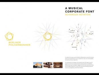 Berliner Philharmonie: A Musical Corporate Font [image] 1 Design & Branding by Scholz & Friends Berlin