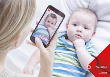 Vodafone: Baby Print Ad by Grey United Milan