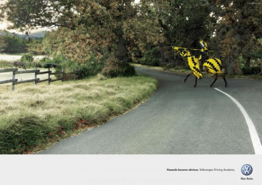 Driving Academy: HORSE Outdoor Advert by Ogilvy Cape Town