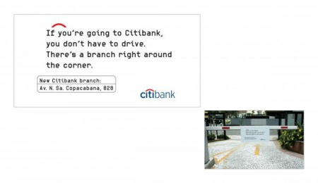 Citibank New Branches: GOING TO CITIBANK Outdoor Advert by Fallon Sao Paulo