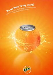 Fanta: Oranges Print Ad by Miami Ad School
