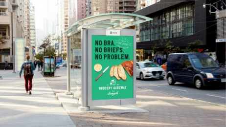 Grocery Gateway: Grocery Gateway Print Ad by Conflict