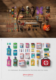 Johnson & Johnson: Halloween Print Ad by BBDO New York