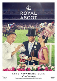 Royal Ascot: An Occasion Like Nowhere Else, 2 Print Ad by Antidote