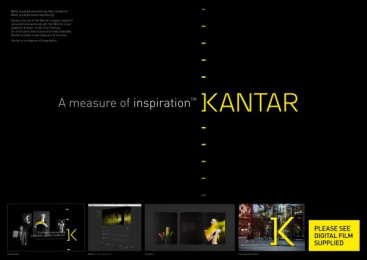 Kantar: KANTAR BRAND IDENTITY Design & Branding by The Partners