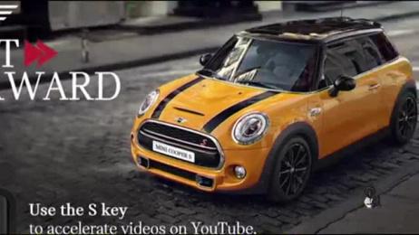 MINI: Mini Fast Forward, 2 Digital Advert by DPZ Sao Paulo, Plural Web