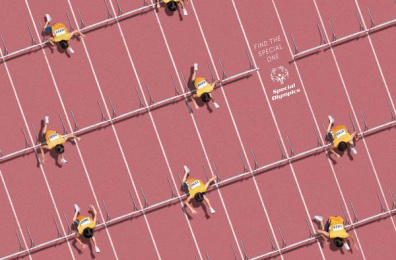 Special Olympics: Patterns - Athletics [english] Print Ad by Shaktiprod, Y&R Mexico