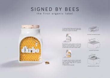 Darbo: Signed By Bees [image] Design & Branding by Demner, Merlicek & Bergmann, VIE Film