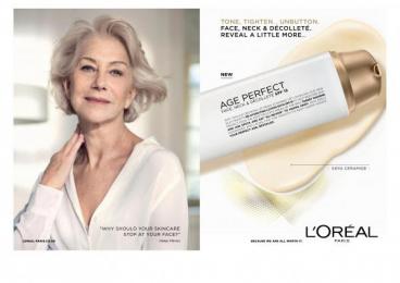 L'Oreal: L'Oréal Paris Age Perfect [image] Print Ad by McCann London