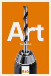 B & Q: Build a Life, 6 Print Ad by Uncommon London, Knucklehead
