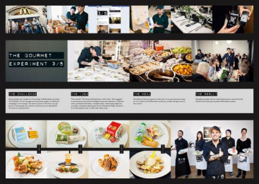 Mcdonald's: The Gourmet Experiment Promo / PR Ad by Carmen Schumacher Filmproduktion, Heye & Partner Munich