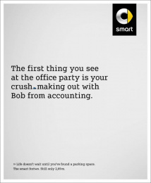 Smart Fortwo: Office Mail [image] Print Ad by BBDO Berlin