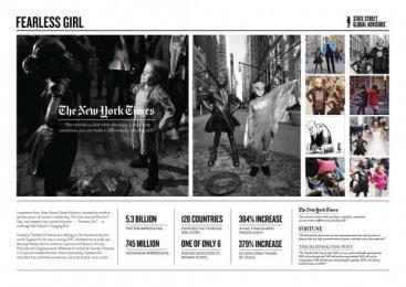 State Street Global Advisors: Case study Outdoor Advert by McCann New York
