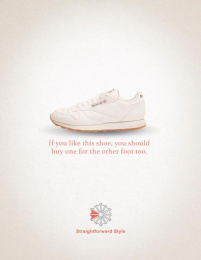 Reebok: Other foot Print Ad by The Creative Circus