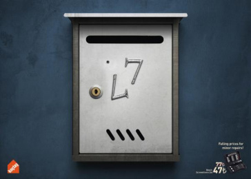 Koctas: Letter Box Print Ad by DDB & Co Istanbul