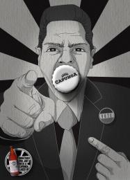 Capunga: Politician Print Ad by Martpet Comunicacao