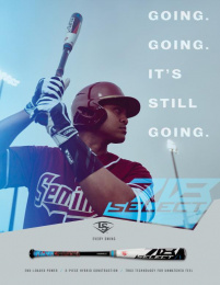 Louisville Slugger: Select 718 Print Ad by Young & Laramore