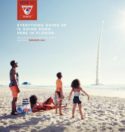 Space Florida: Going Up Print Ad by Paradise Advertising