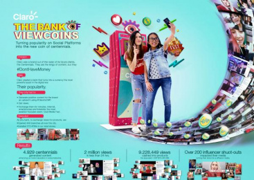 Claro: Claro Digital Advert by Geometry Global Bogota