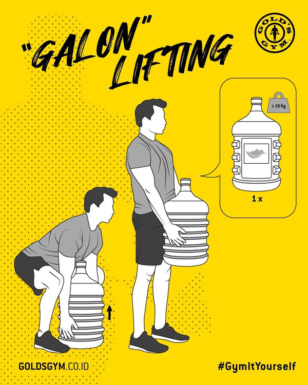"""Gym It Yourself - """"Galon"""" Lifting"""